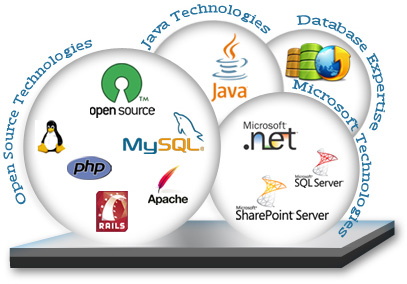 Our web development technologies